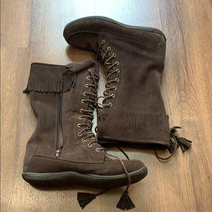 LL Bean Size 11 Cozy Boots Native Rare